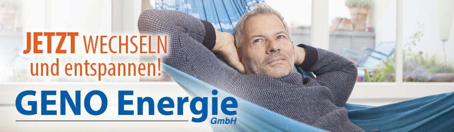 GENO Energie - Jetzt wechseln und entspannen!