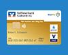 Goldene girocard (Debitkarte)