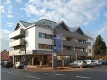 Foto der Hauptstelle der Raiffeisenbank in Durmersheim