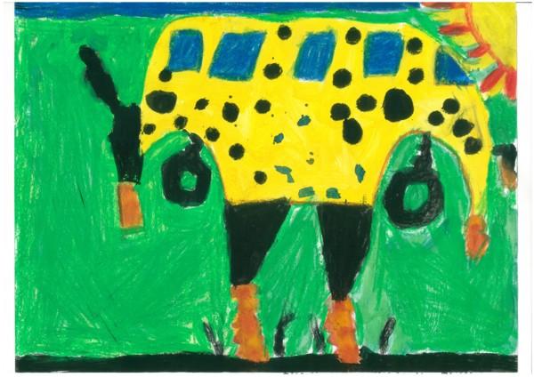 Fliegender Schulbus