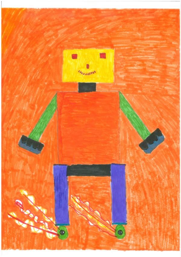 Roboter, der boxen kann