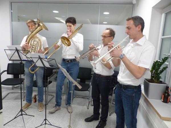 Quattro Brass Ensemble Musikverein Au am Rhein