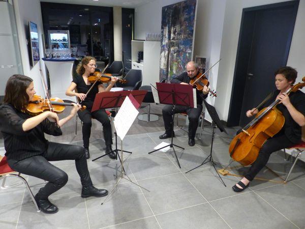 Quartett Ensemble ConFuoco aus Bietigheim